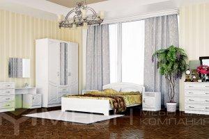 Спальный гарнитур Александра 4 - Мебельная фабрика «Меон»