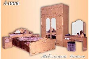 Спальный гарнитур Алина - Мебельная фабрика «Мебельный стиль», г. Пенза