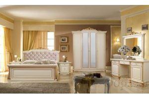 Спальный гарнитур Ариза шпон ясеня - Мебельная фабрика «Шанс»