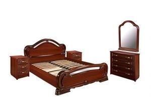 Спальный гарнитур Барселона орех - Мебельная фабрика «Шуйская мебель»