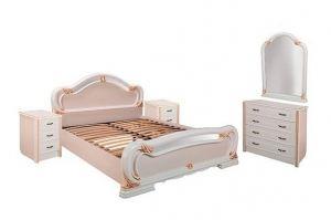 Спальный гарнитур Барселона светлая - Мебельная фабрика «Шуйская мебель»
