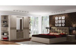 Спальный гарнитур Белла 2 - Мебельная фабрика «МИГ»
