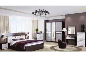 Спальный гарнитур Белла 3 - Мебельная фабрика «МИГ»