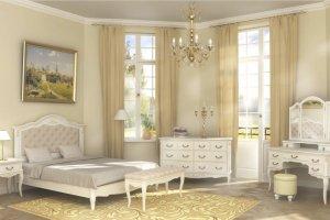 Спальный гарнитур Belverom Gold - Мебельная фабрика «Альянс 21 век»