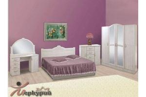 Спальный гарнитур белый Шелла - Мебельная фабрика «Меркурий»