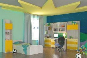 Спальный гарнитур детский 1 - Мебельная фабрика «Мебельный Квартал»