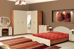 Спальный гарнитур Диана 2 - Мебельная фабрика «Скиф»