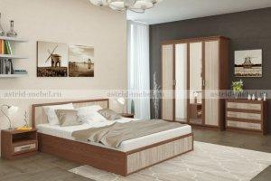 Спальный гарнитур Джорджия 2 - Мебельная фабрика «Астрид-Мебель»