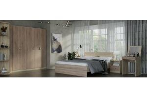 Спальный гарнитур ЭКСОН  дуб Сонома / винтаж - Мебельная фабрика «Гайвамебель»