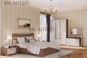 Спальный гарнитур Елена-2 - Мебельная фабрика «Антей»