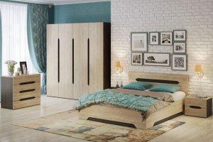Спальный гарнитур Эстель - Мебельная фабрика «Евромебель»