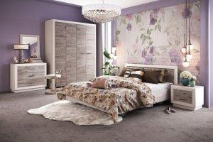 Спальный гарнитур Эстель - Мебельная фабрика «Калинковичский мебельный комбинат»
