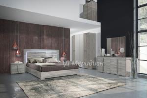 Спальный гарнитур Эвелин - Мебельная фабрика «Меридиан»
