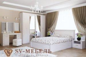 Спальный гарнитур ГАММА-20 - Мебельная фабрика «SV-мебель»