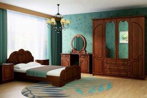 Спальный гарнитур Гармония 2 - Мебельная фабрика «Альбина»