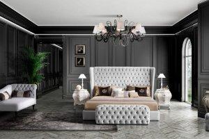 Спальный гарнитур HERMES - Импортёр мебели «Riboni Group (Италия)»