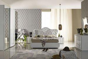 Спальный гарнитур Хилтон - Мебельная фабрика «Меридиан»