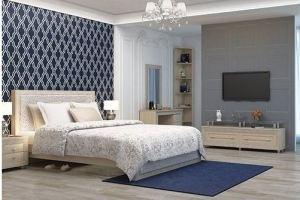 Спальный гарнитур Калипсо ТУЯ СВЕТЛАЯ - Мебельная фабрика «Аквилон»