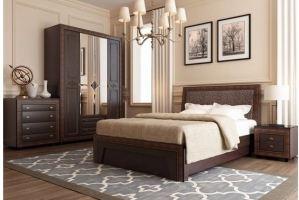 Спальный гарнитур Калипсо венге - Мебельная фабрика «Аквилон»