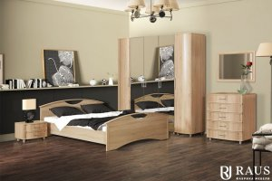 Спальный гарнитур Камелия 1 - Мебельная фабрика «РАУС»