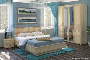 Спальный гарнитур Карина 1 - Мебельная фабрика «Лером»