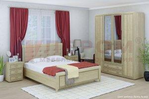 Спальный гарнитур Карина 4 - Мебельная фабрика «Лером»
