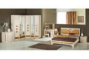 Спальный гарнитур Кэри Голд - Мебельная фабрика «Уфамебель»