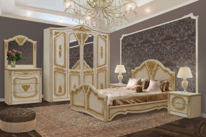 Спальный гарнитур Клеопатра - Мебельная фабрика «Аристократ»