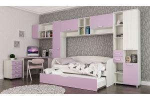 Спальня детская Лада лиловая - Мебельная фабрика «Мульто»