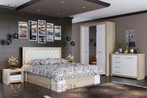 Спальный гарнитур Лагуна 6 - Мебельная фабрика «SV-мебель»