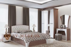 Спальный гарнитур Лагуна 7 - Мебельная фабрика «SV-мебель»