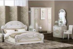 Спальный гарнитур Лара беж - Мебельная фабрика «ИнтерДизайн»