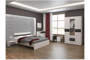 Спальный гарнитур Лайн - Мебельная фабрика «Мебель плюс»