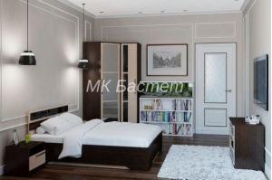 Спальный гарнитур ЛДСП Европа-4 - Мебельная фабрика «Бастет»