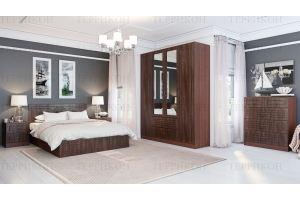 Спальный гарнитур МДФ Лондон - Мебельная фабрика «Террикон»