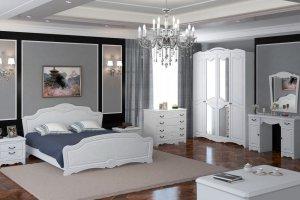 Спальный гарнитур Лотос белый - Мебельная фабрика «Браво мебель»