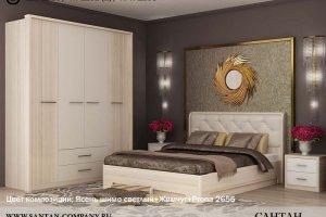 спальный гарнитур Луна - Мебельная фабрика «Сантан»