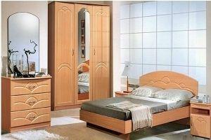 Спальный гарнитур Луна - Мебельная фабрика «ЛиО»