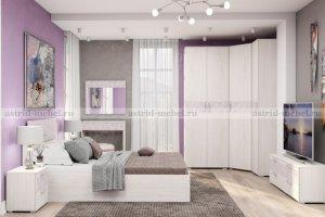 Спальный гарнитур Марсель 1 - Мебельная фабрика «Астрид-Мебель»