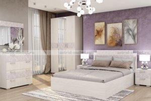 Спальный гарнитур Марсель 2 - Мебельная фабрика «Астрид-Мебель»