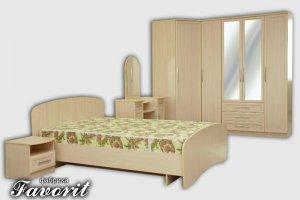 Спальный гарнитур Маша 1 - Мебельная фабрика «Фаворит»