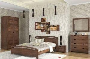 Спальный гарнитур массив Бали-2 - Мебельная фабрика «МЭБЕЛИ»