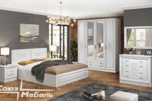 Спальный гарнитур МДФ Аэлита - Мебельная фабрика «Союз-мебель»
