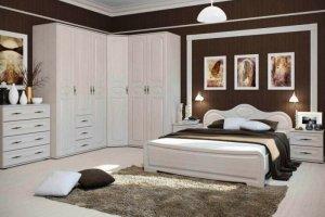 Спальный гарнитур МДФ Герда - Мебельная фабрика «Мебельный стиль»