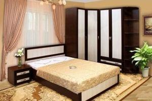 Спальный гарнитур Миранда - Мебельная фабрика «Сибирь»