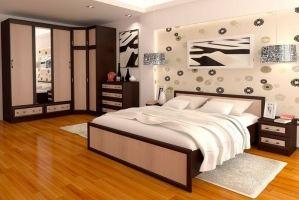 Спальный гарнитур Модерн 2 - Мебельная фабрика «Baer»