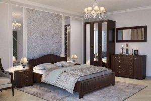Спальный гарнитур Монблан 041 венге - Мебельная фабрика «Компасс»