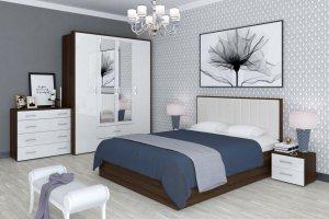 Спальный гарнитур Моника в новом цвете - Мебельная фабрика «Интеди»