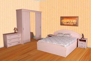 Спальный гарнитур Нева - Мебельная фабрика «СКБ»