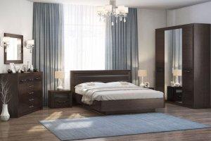 Спальный гарнитур ника Венге - Мебельная фабрика «Евромебель»